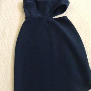 Bec & Bridge Dresses - Bec & Bridge asymmetrical dress in Navy